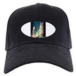 Miami Beach Art Deco Railway Print Baseball Hat