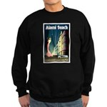 Miami Beach Art Deco Railway Print Sweatshirt