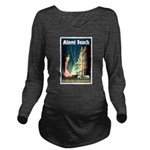 Miami Beach Art Deco Railway Print Long Sleeve Mat
