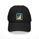 Miami Beach Art Deco Railway Print Baseball Hat