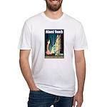 Miami Beach Art Deco Railway Print T-Shirt