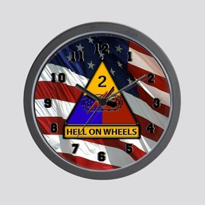 2nd Armored Division Wall Clock