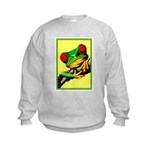 Abstract Fantasy Art Deco Tree Frog Jumpers