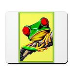 Abstract Fantasy Art Deco Tree Frog Mousepad