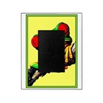 Abstract Fantasy Art Deco Tree Frog Picture Frame