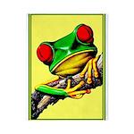 Abstract Fantasy Art Deco Tree Frog Twin Duvet