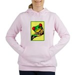 Abstract Fantasy Art Deco Tree Frog Women's Hooded