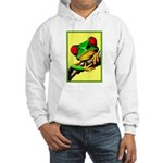 Abstract Fantasy Art Deco Tree Frog Hoodie Sweatsh