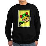 Abstract Fantasy Art Deco Tree Frog Sweatshirt