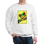 Abstract Fantasy Art Deco Tree Frog Sweater