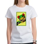 Abstract Fantasy Art Deco Tree Frog T-Shirt