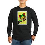 Abstract Fantasy Art Deco Tree Frog Long Sleeve T-