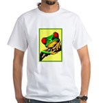 Abstract Fantasy Art Deco Tree Frog T-Shirt