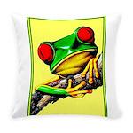 Abstract Fantasy Art Deco Tree Frog Everyday Pillo