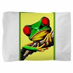 Abstract Fantasy Art Deco Tree Frog Pillow Sham