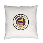 Garage Sale Music Logo Everyday Pillow