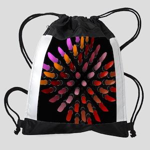 Gorgeous Lipsticks Drawstring Bag