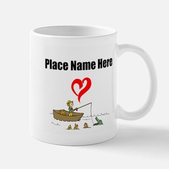Loves Fishing Mugs