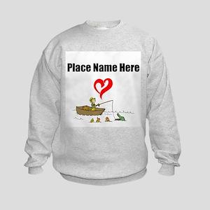 Loves Fishing Sweatshirt