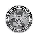 "Dms Logo The Warehouse 300 3.5"" Button (100 P"