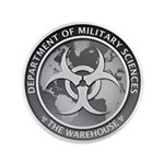 "Dms Logo The Warehouse 300 3.5"" Button (100 P"