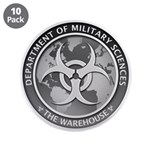 "Dms Logo The Warehouse 300 3.5"" Button (10 Pa"