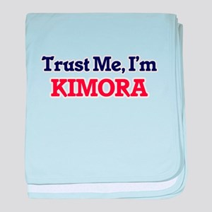 Trust Me, I'm Kimora baby blanket