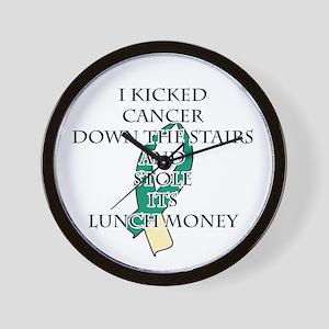 Cervical Cancer Bully Wall Clock