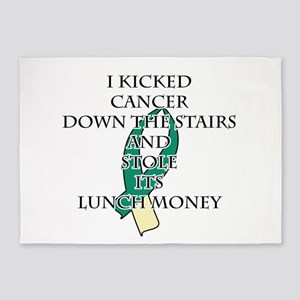 Cervical Cancer Bully 5'x7'Area Rug