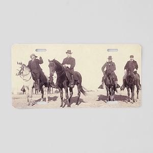 William Buffalo Bill Cody Aluminum License Plate