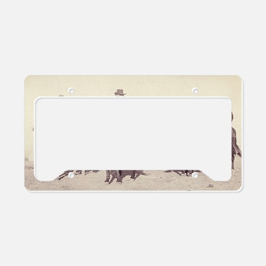 William Buffalo Bill Cody License Plate Holder