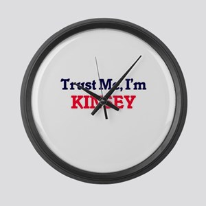Trust Me, I'm Kinsey Large Wall Clock