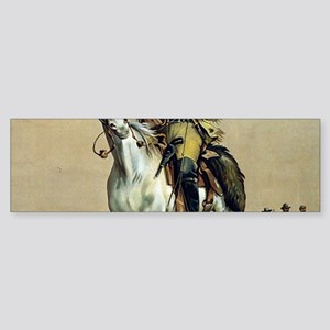 Buffalo Bill Vintage cowboy Bumper Sticker
