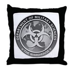 DMS LOGO The Warehouse 300 dpi Throw Pillow