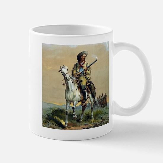 Buffalo Bill Vintage cowboy Mugs