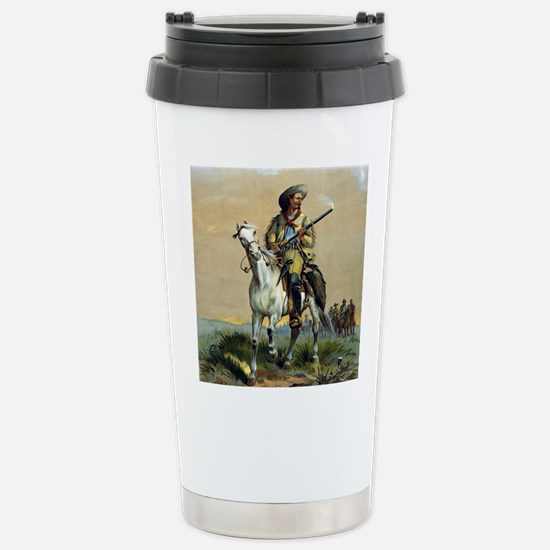 Buffalo Bill Vintage co Stainless Steel Travel Mug
