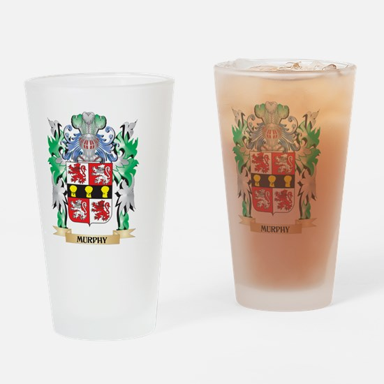 Murphy Coat of Arms - Family Crest Drinking Glass