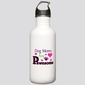 Dog Moms Are Pawesome Water Bottle