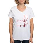 Horde Pride Women's V-Neck T-Shirt