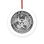Dms Logo The Warehouse 300 Dpi Round Ornament