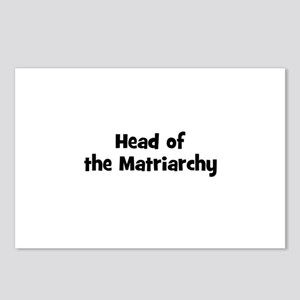 Head of the Matriarchy Postcards (Package of 8)