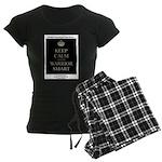 Keep Calm and Be Warrior Smart Pajamas