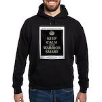 Keep Calm and Be Warrior Smart Hoodie