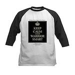 Keep Calm and Be Warrior Smart Baseball Jersey