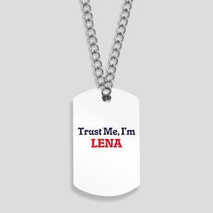 Trust Me, I'm Lena Dog Tags