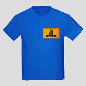 Don't Tread on Me! Kids Dark T-Shirt