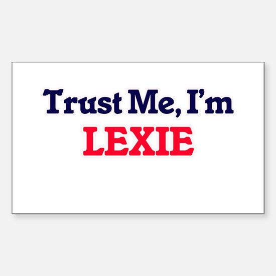 Trust Me, I'm Lexie Decal