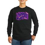 Disappearing Cheshire Long Sleeve Dark T-Shirt