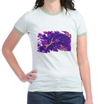 Disappearing Cheshire Jr. Ringer T-Shirt