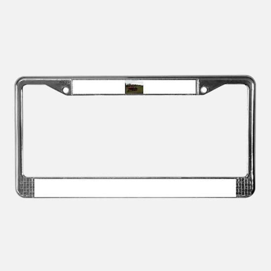 Unique Tractor License Plate Frame